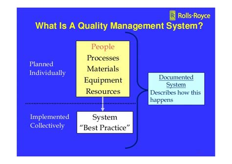 iso 9001 14001 quality management rolls royce orton 2009