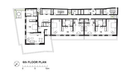 hotel floor plan sample
