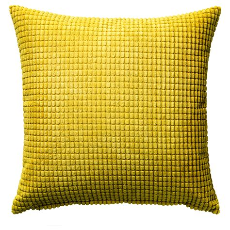 ikea cusions gullklocka cushion cover yellow 50x50 cm ikea