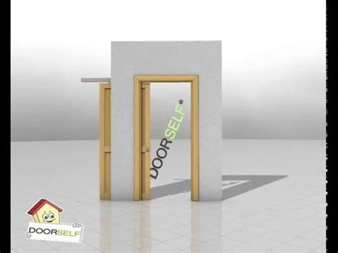 montare porta scrigno porta scorrevole interno muro a scomparsa montaggio