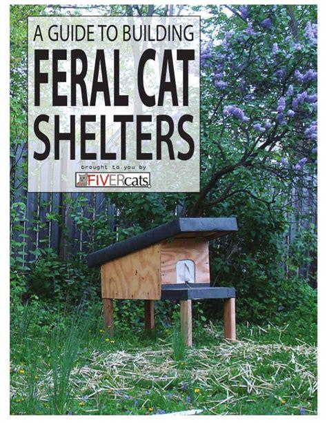 feral cat house plans feral cat house plans