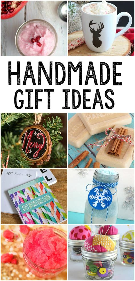 Handcrafted Gifts Ideas - handmade gift ideas