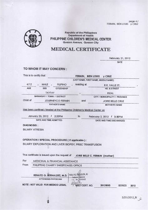 work experience certificate sample doctor best medical certificate