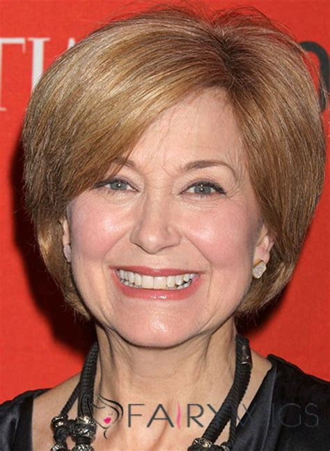 jane pauley lastest wig jane pauley hairstyle short straight lace front human hair