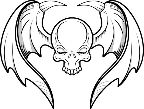 cartoon skull tattoo designs skull tattoos clipart best