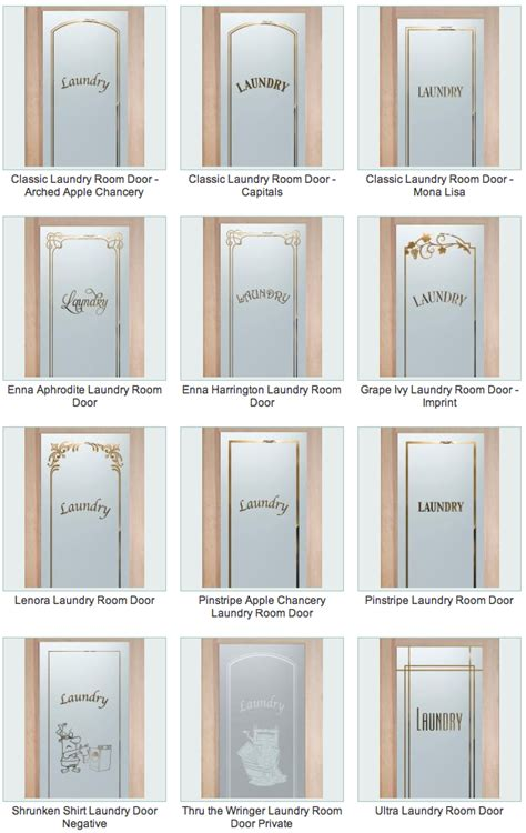 glass doors for laundry laundry room doors sans soucie glass