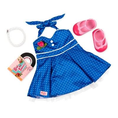 design a doll smyths our generation 174 retro regular outfit dance party target