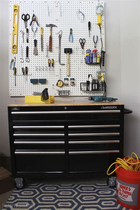 Pegboard Kitchen Ideas by Fall Nesting Diy Pegboard Amp Tool Organization For