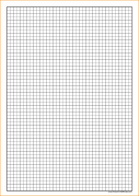 printable graph paper a4 5mm 10 math graph paper mucho bene