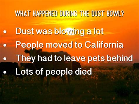 The Dust the dust bowl by codycori