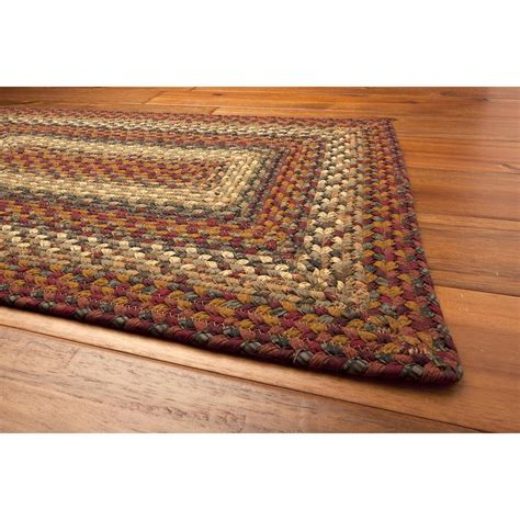 braided country rugs neverland cotton braided rugs country shoppe