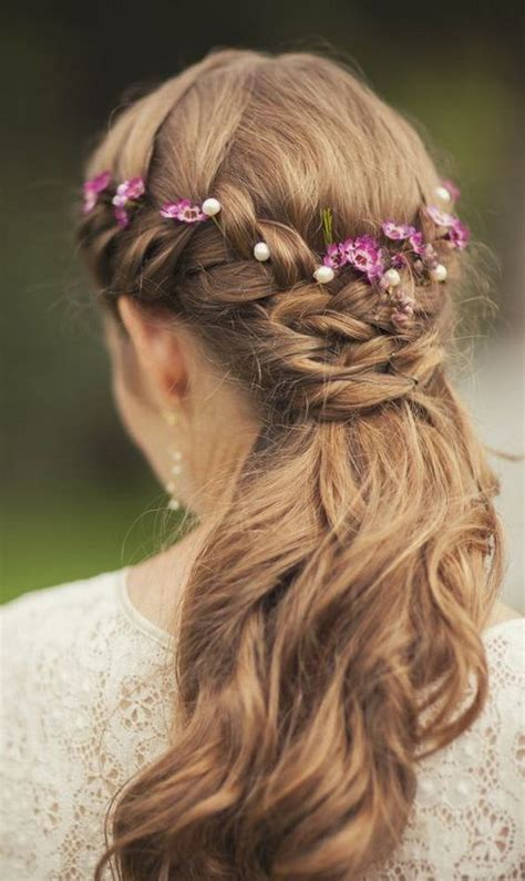 flower girl hairstyles half up half down 55 stunning half up half down hairstyles