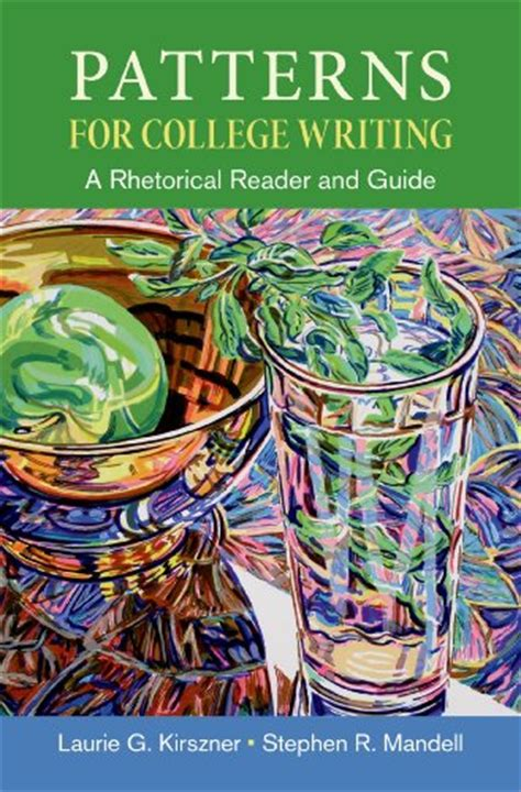 Patterns English Book Pdf | patterns for college writing a rhetorical reader and
