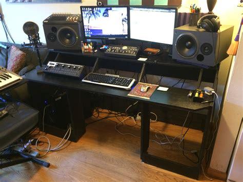 New Rack Mount Studio Desk Build Gearslutz Com Studio Desk With Rack Mount