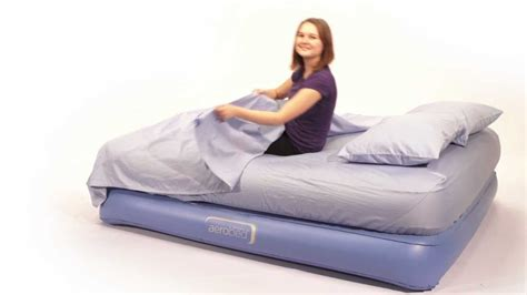 aero bed aero bed aerobed twin size extrabed click to zoom bag of the aerobed doublehigh aerobed