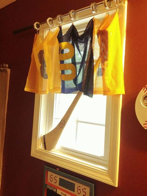 sports themed shower curtains 83 best images about bonus room on pinterest basement