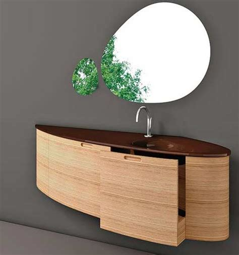 The Contemporary Style 23 Balboa Corner Glass Vessel Sink Modern Wall Mounted Bathroom Vanities