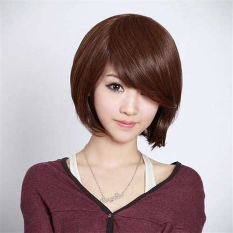 cute haircuts for straight hair with bangs short straight hairstyles with bangs short hairstyles