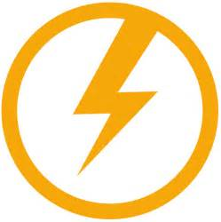 Car Company With Lightning Bolt Orange And Blue Lightning Bolt Clipart Clipart Suggest