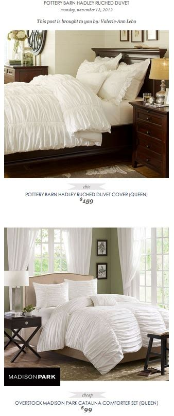 comforter cover vs duvet cover copy cat chic find pottery barn hadley ruched duvet cover