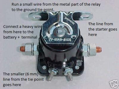 bwd starter solenoid wiring diagram 35 wiring diagram