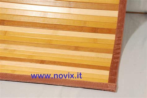 tappeti bambu tappeto bamb 217 sfumato miele 47x75 cm