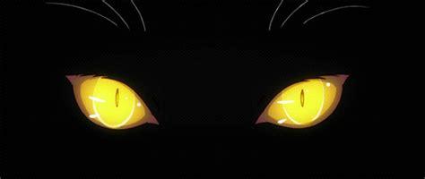 scary gif cat girl animals depression sad eyes anime