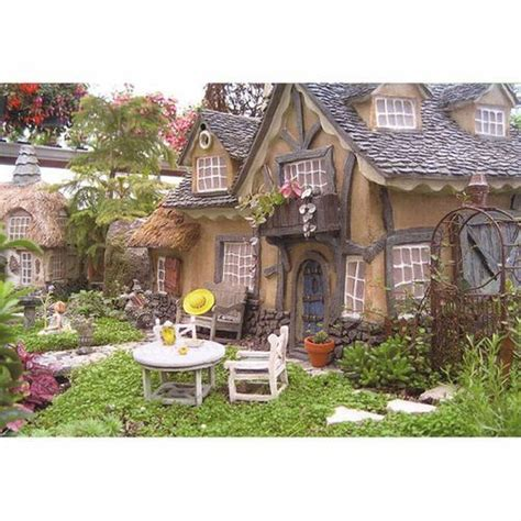 Miniature Garden Houses by Smalls4
