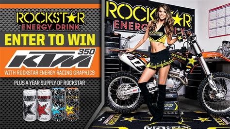 Sweepstakes Regulations Australia - rockstar qt ktm giveaway sweepstakes rockstar energy drink