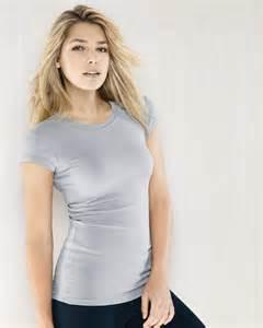 women s sheer longer length rib t shirt