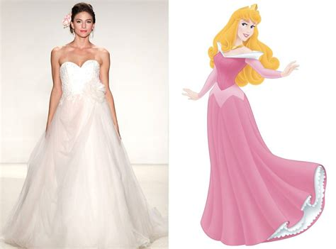 Aurora from Alfred Angelo?s Disney Princess Wedding Gowns   E! News