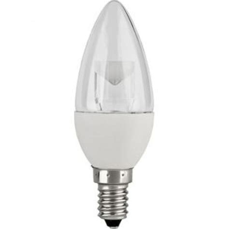 Candle Light Led Bulbs Led Candle 5w E14 Clear 3000k Non Dimmable