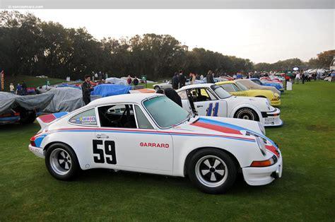 1973 rsr porsche 1973 porsche 911 rsr at the amelia island concours d elegance
