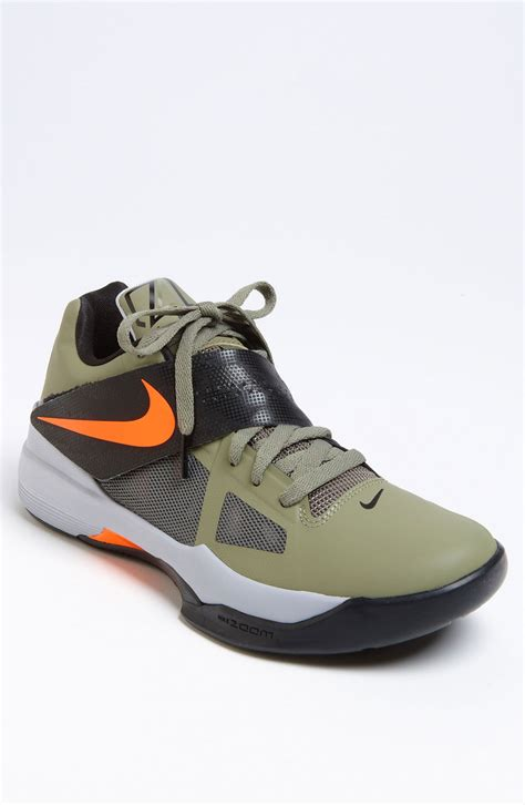 kd 4 basketball shoes nike zoom kd iv basketball shoe in green for green
