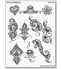 henna design templates akiyo henna designs stencils mehndi