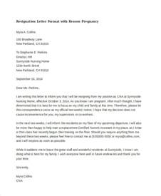 Resignation Letter For Family Reasons by Doc 600730 Resignation Letter Family Reasons Sle Resignation Letter For Family Reason 7