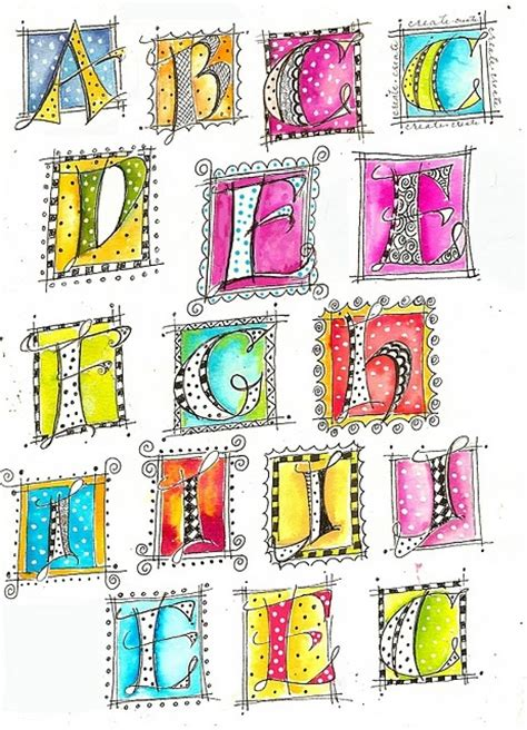 doodle letter ideas class beautiful lettering journal