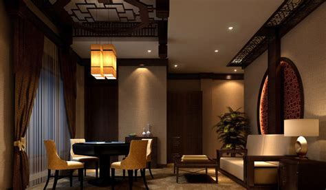Living Room Steakhouse And Lounge Lounge Interior Design Rendering Style