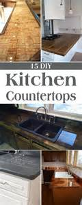 15 amazing diy kitchen countertop ideas copper kitchen countertops home design ideas