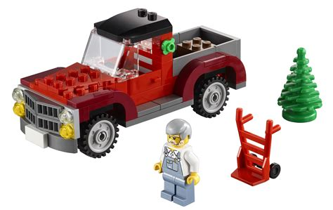 new limited edition lego pick up truck christmas 2013