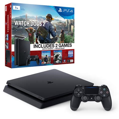 playstation 4 console bundles playstation 4 slim 1tb dogs 2 console bundle the