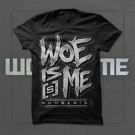 Woe Is Me woe is me number s logo black rsrc merchnow your