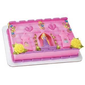 Disney princess rapunzel and castle decoset 17902