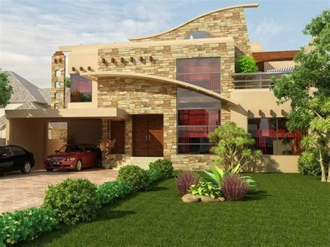 Home Exterior Design Pakistan | 1 kanal house design pakistan exterior pinterest