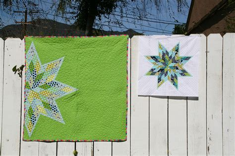 lone star quilt pattern queen size scrappy lone star block