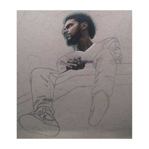 J Cole Drawing Easy by J Cole 2014 Forest Drive Wip 1 By Wega13 On Deviantart