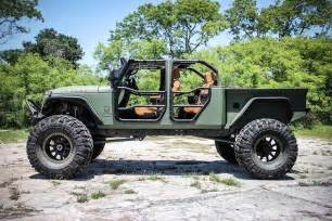 Bed Jeep Jeep Jk Crew Bruiser On 44 S With A Truck Bed And Four Doors