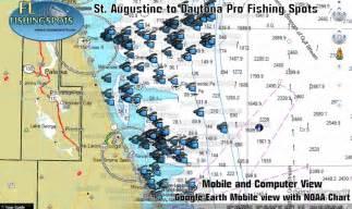 florida fishing map st augustine florida fishing map florida fishing maps