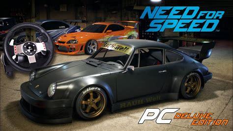 volante porsche 911 need for speed porsche 911 rwb nakai volante