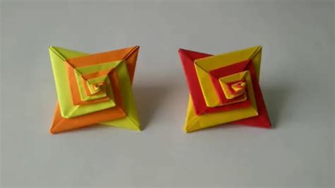How To Make Cool Origami Toys - origami spinning origami dreidel bible belt balabusta